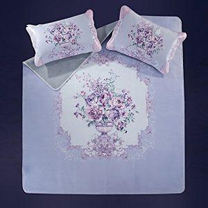 Nclon couchage Tapis de refroidissement Surmatelas Pad confortable et respirant, Bactéricide-fongicide et anti-acariens, Queen2