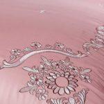 ACOMDSS Literie à Motif, Parure de lit, 4 pièces – Ensemble de 4 couvertures de Couette en Pur Coton de Pur Coton européen brodé de Lin,A,1.8M(6in)