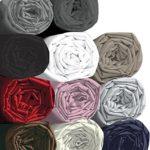 Drap housse – 100% coton – Blanc – 160 x 200 cm