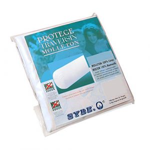 Housse de Protection de traversin absorbante Antonin – Blanc 80 cm