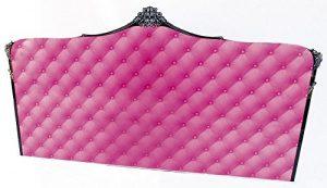 Tête de lit acrylique Capiton rose 180 ~ Acrila