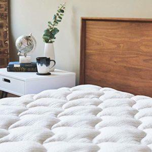 ViscoSoft | Surmatelas Antistatique | Matelassage de Haute Qualité pour Un Confort Premium | Tissu Antistatique et Relaxant | Soutien Moelleux | (160_x_200_cm)