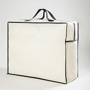 Lumaland sac de rangement pour oreillers, couettes, housses de matelas, mantas.60 x 50 x 25 cm
