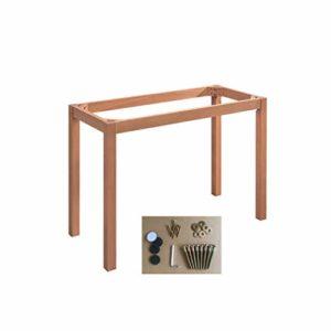 CIKO Bois de hêtre Massif Remplacement canapé canapé Chaise Pouf Table Basse Meuble Meubles en Bois Jambes