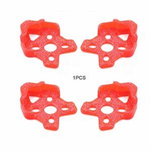 FinukGo Applicable Forgepr Gep-Kx Khx à Travers la Machine Impression 3D Cadre de Protection de Base du Moteur Siège de Protection Anti-Explosion TPU – Rouge