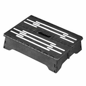 YO-TOKU Marchepied pliable portable Noir