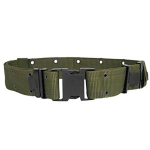 AREA Tactical Military Cordura Belt for Airsoft Paintball Wargames Quick Release Green kr027 V