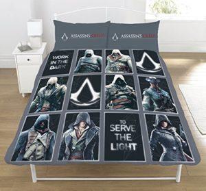 Assassins Creed 'Legacy' Double Housse de Couette, Multi