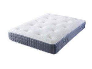 Daniel Beds & Furniture Ltd Lush 1000 Matelas de poche, gris, Super king size