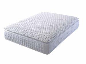 Daniel Beds & Furniture Ltd Matelas en cachemire 1000 poches, blanc, Simple