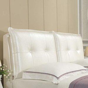 JN Tête de lit Chambre Grande Tête de lit Coussin de Chevet Tapis Soft Case Retour Coussins Canapé Fournitures Oreiller Taille Lavable, avec tête de lit Coussin appuie-tête (Color : 3, Size : 90cm)