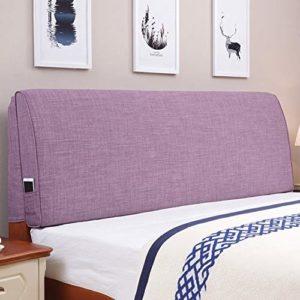 JN Tête de lit Nuit Coussin/Triangle Canapé Big Dossier/Sac Souple Lavable Dossier, avec tête de lit Coussin appuie-tête (Color : C, Size : 100cm)