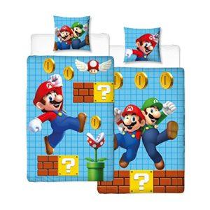 Parure de lit Mario – Housse de couette + taie