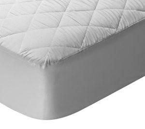 Pikolin Home – Protège-matelas matelassé hypoallergénique respirant. 120×190/200cm-Lit 120