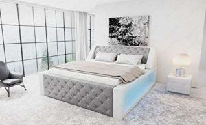 Sofa Dreams Arezzo Chesterfield Lit à sommier tapissier