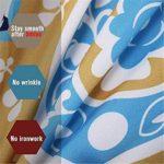 SSLLC 3D Housse de Couette,éléphant Mandala Pattern,Bohême Exotique Patterns Moderne Style Ensemble Microfiber De Literie avec Parure de Lit Multicolore (A5,Single 135x200cm)