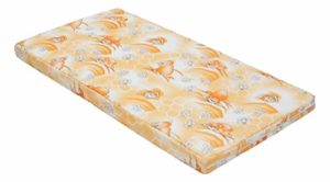 BEST FOR KIDS- Matelas Pour Enfants 60×120 Orange, BEST FOR KIDS-