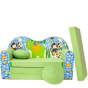 Canapé-lit pour enfant – Plusieurs couleurs et motifs
