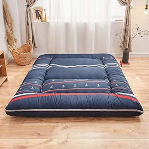 JAHQ Surmatelas, Matelas futon Tatami épaissi, Tapis de Sol Matelas de Sol Matelas Pliable antidérapant pour étudiants 180 x 200 cm