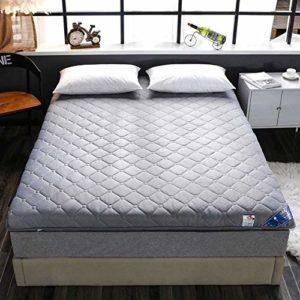 JAHQ surmatelas, Matelas, Matelas épais, Matelas de Conception de Tatami futon Confortable et Respirant pour dortoir 180 x 200 cm