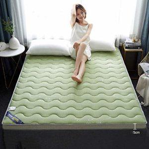 JAHQ surmatelas, Matelas, Tatami Mat Sleeping, Matelas Pliable Respirant pour dortoir étudiant 120 x 190 cm