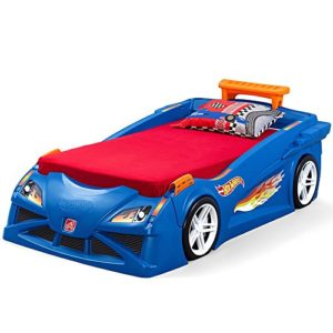Step2 Hot Wheels Toddler vers double Lit avec lumières véhicule