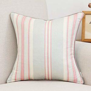 Taie d'oreiller de canapé Simple Moderne Haut de Gamme Dossier Couvre-Oreiller Housses de Coussin de Coussin de Bureau à la Maison pour la décoration Canapé/Chaise/Lit/Voiture,A,45X45CM
