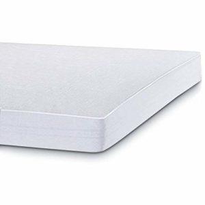 Bedecor Tencel Protège Matelas Imperméable et Respirante, Hypoallergenique, Anti-Acarien, Anti-Bactérien (140×200-140×190 cm)