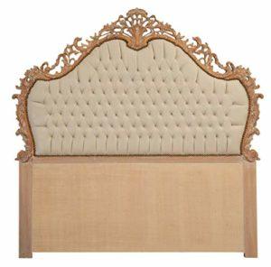 Biscottini Tête de lit, décoration pour la maison en bois massif de hêtre, également couverture pour têtes de lit et têtes de lit
