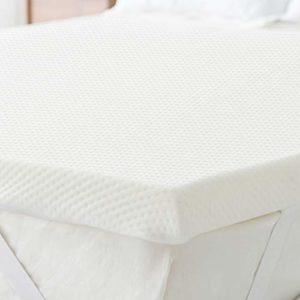 BUZIO Sleep Comfort Surmatelas en mousse à mémoire de forme 150 x 200 cm