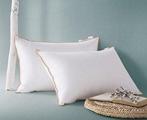 Cinq étoiles de qualité de l'hôtel de sommeil pour aider oreiller protection rebond de cou lent doux et confortable , middle pillow