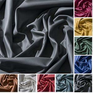 IPEA Coupes de Cuir véritable en différentes Couleurs et Dimensions – Surface martelée, pièces de Cuir, Graphite, 30 x 30 cm
