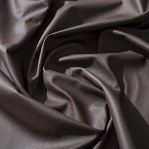 IPEA Coupes de Cuir véritable en différentes Couleurs et Dimensions – Surface martelée pièces de Cuir, Marron foncé, 30 x 30 cm