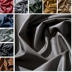 IPEA Coupes de Cuir véritable qualité Premium en différentes Couleurs et Tailles – Surface Lisse Coupe de 30 x 30 cm, Graphite