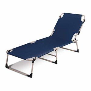 LKNJLL Pliante légère Bed & Portable Cot Camping