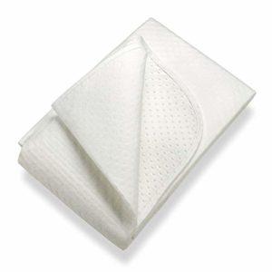 SETEX Isolateur de sommier, Points en latex, Taille 100 x 200 cm, Classic, N450 100200 151 002, Blanc