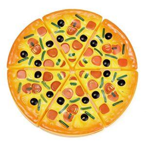 Shizuhatagayama enfants Enfants de cuisine Pizza Party Fast Food tranches de coupe Pretend Play Food jouet