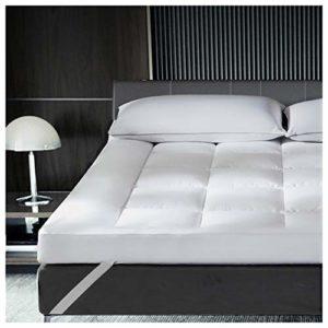 Tensism 8cm Coton Pur Matelas,Pas-Glisser Futon Absorbant L'humidité,Portable Dortoir D'étudiant Matelas,pour Hotel Camping