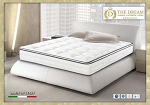 the dream luxury mattress hotel Lit de Jour, Matelas Blanc Sommier Blanc, King Size