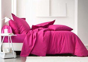 TODAY 106105 Drap Housse Jersey Coton Jus de Myrtille 140 x 190 cm