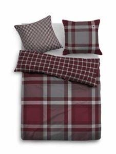 TOM TAILOR 0069917 Parure de lit en Satin de Coton avec taie d'oreiller 135 x 200 cm et 1 taie d'oreiller 80 x 80 cm