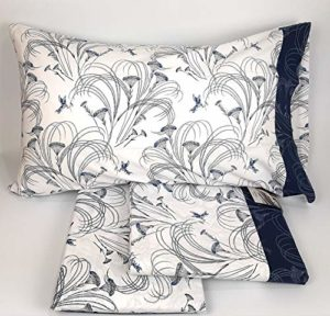 Fazzini Parure de lit en flanelle pour lit 2 places, 5 cm