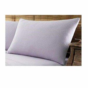 Gaveno Cavailia Paire de taies d'oreiller en Flanelle de Coton brossé de qualité supérieure, 100% Coton brossé Facile d'entretien, Violet, 50 x 75 cm, 50 x 75 cm, 50 x 75 cm