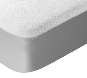 Pikolin Home – Protège-matelas avec traitement à l'aloe vera. Imperméable et Respirant. 200x200cm-Lit 200