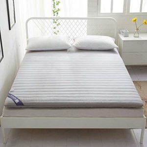 Tatami Matelas futon en coton respirant pour le salon, la chambre à coucher, D 120 x 200 cm