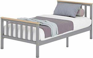 Mobilier de chambre simple cadre de lit cadre de lit enfants et des adolescents,A