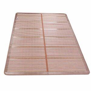 Tapis de refroidissement, tapis de refroidissement pliable, tapis d'été frais, chambre écologique pour la maison d'été des enfants(90 * 190cm)