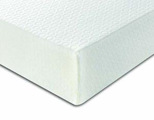 Visco Therapy Matelas Simple pour lit cabane en Mousse Haute densité hypoallergénique, Blanc, 2FT6 Small Single