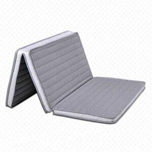 YWYW Matelas en Coco Naturel Matelas de lit de Tatami orthopédique 3e Matelas de cocotier Pliant Camping Pad Portable Guest Kids Office Bed-a 150 * 200cm (59x79inch)