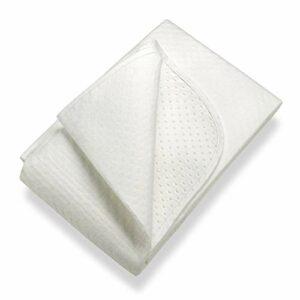 SETEX Isolateur de sommier, Points en latex, Taille 80 x 200 cm, Classic, N450 080200 151 002, Blanc